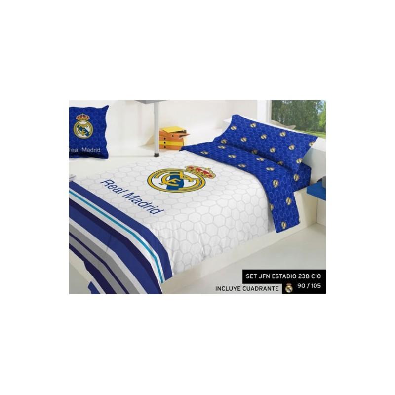 Funda Nordica Real Madrid Cama 90.Juego Funda Nordica Real Madrid Con Cuadrante